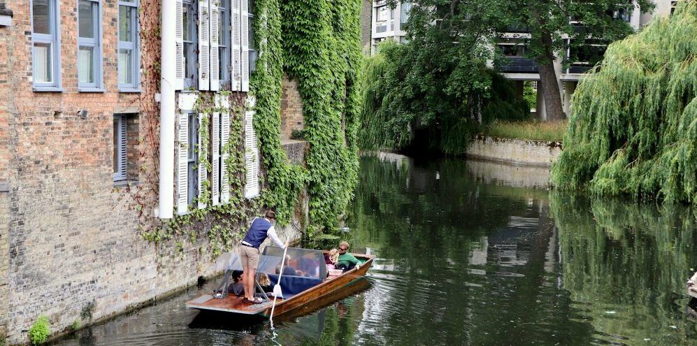 Private Section Punting, Shared Punting Tour, Half boat, Punting in Cambridge, Cambridge Punting Tour, punting COVID19