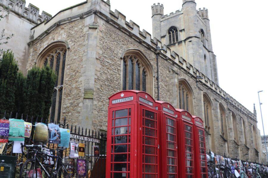st marys, st marys church, cambridge, cambridgeshire, market, city center, visit cambridge, st. marys church cambridge, university
